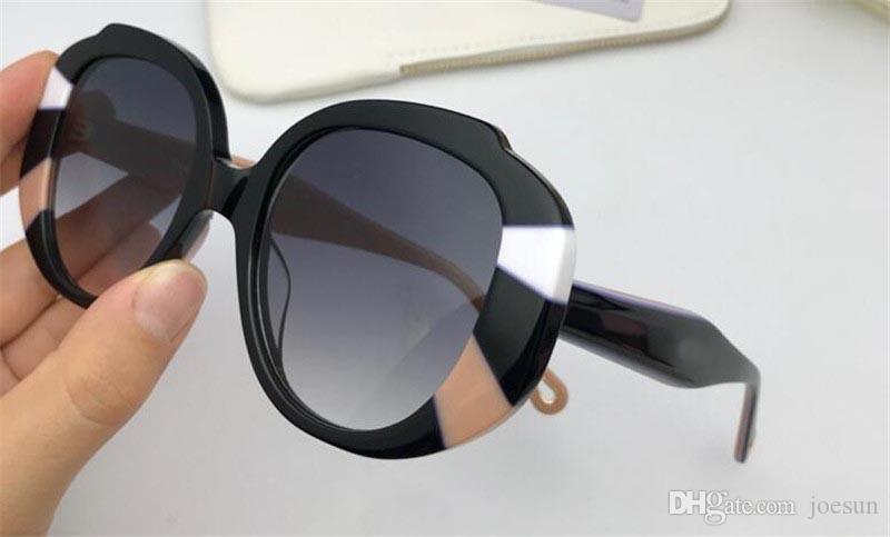 NOVA Moda capaz popular óculos de sol 744 óculos de armação de olho de alta qualidade simples e generoso estilo eyb óculos de proteção com caixa