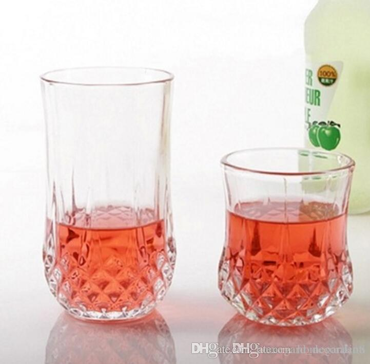 Wine Glasses Lead-free glass diamond cup whiskey mug beer mug for family bar hotel party supplies
