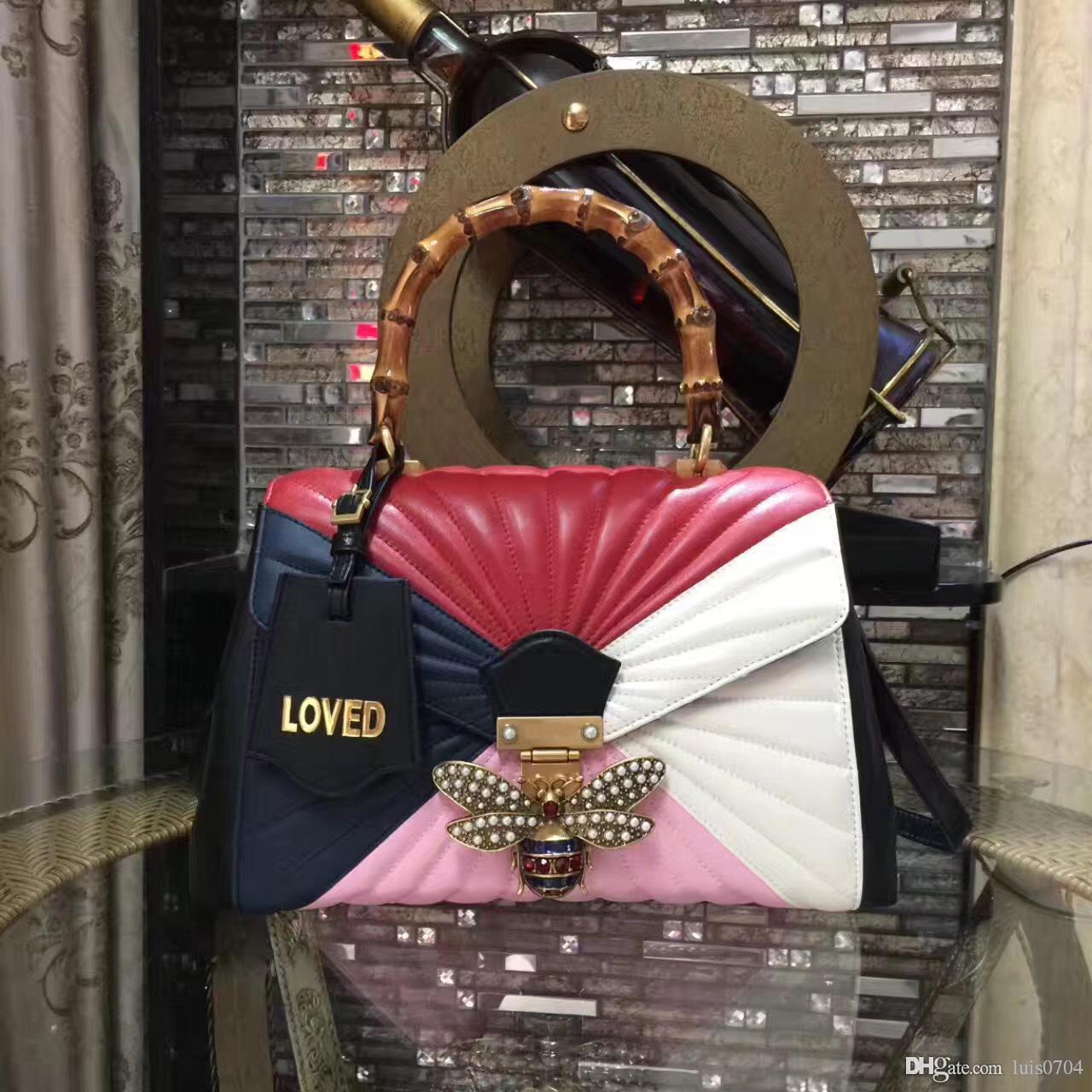 Kraliçe Margaret deri tote çanta 077 güzel kadın moda deri Lüks bayan çanta hızlı ücretsiz kargo stil 476531