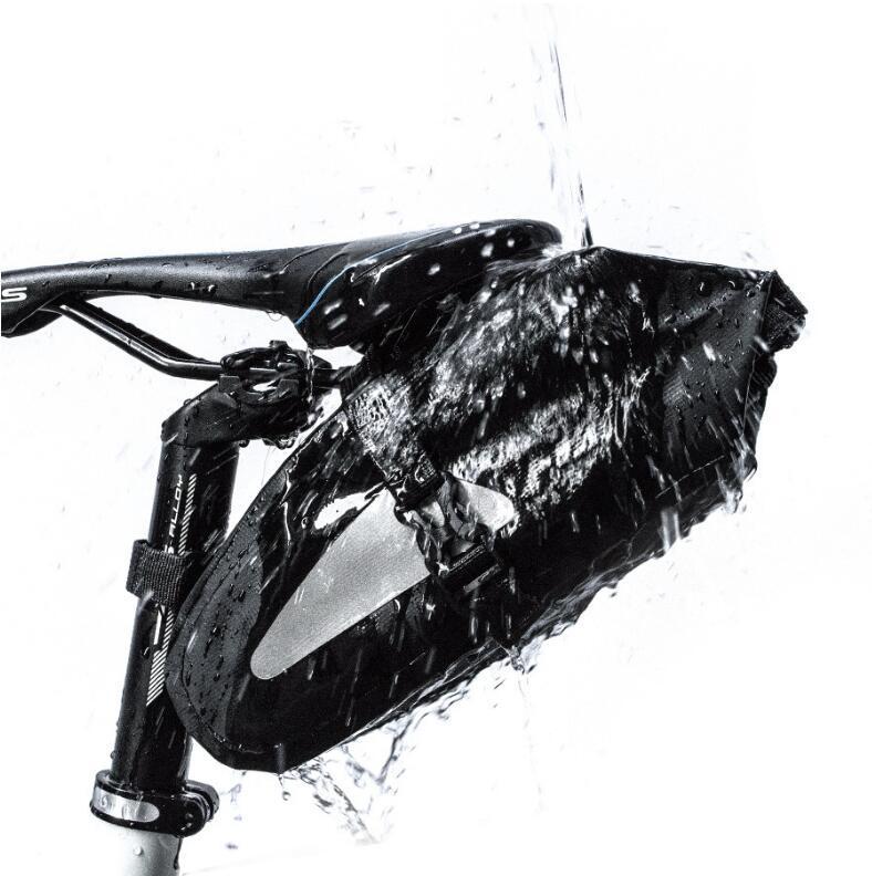 2020 Bicycle Bag Bike Waterproof Storage Saddle Bag Seat Cycling Tail Rear Pouch Bag Saddle Rear Pannier Bolsa Bicicleta Cycling Equipment