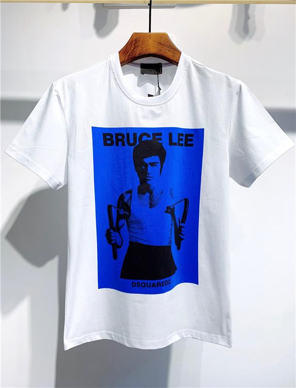 Men's T-shirt Luxury Mens Shirt Famous Men Women Couples Casual Pullover T Shirt Black White Men's T-shirt