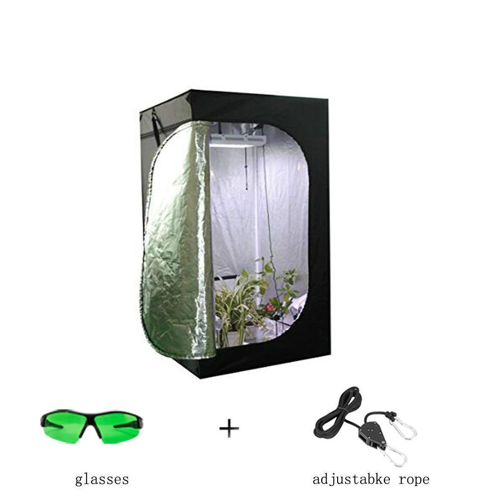 plante d'intérieur Tentes de gamme complète pour la fleur de serre lampe LED lumière Phyto Tentes de kit de boîte fitolampy