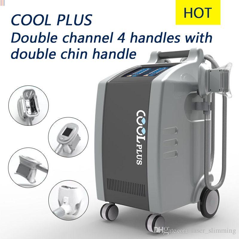 Cryolipolysis gordura elevado poder Congelamento emagrecimento máquina crioterapia Qualquer 3 alças juntos perda de peso beleza equipamentos