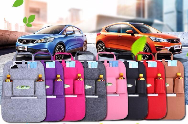 7 Цветов Новый Авто Автокресло Организатор Держатель Multi-Pocket Дорожная Сумка Для Хранения Вешалка Backseat Организационная Коробка Бесплатная Доставка
