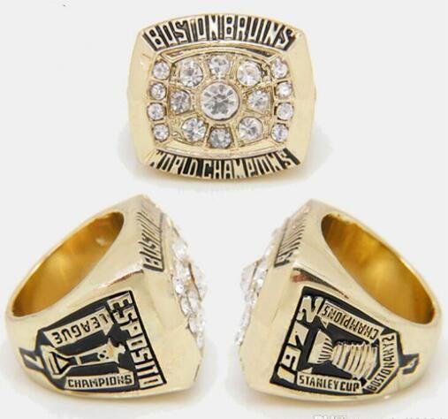 Belle commemorativi Anelli Hockey NHL 2011 1972 1970 Boston Brown Bears anello di campionato Lega Fans regalo