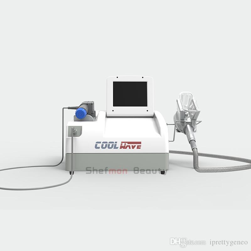 2020 récent traitement radiale onde de choc avec poignée / machine portative shockwave cryolipolysis cryolipolysis pour la perte weigth