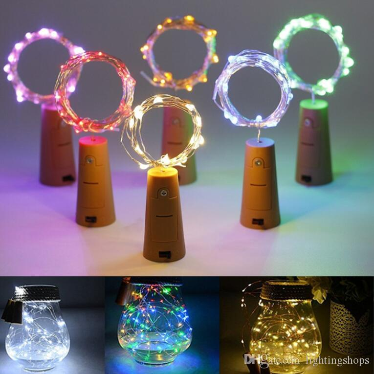 2M 20LEDs Mini LED Holiday String Lights Micro Waterproof Lamp Indoor Wedding Light for Home Decoration Christmas Glass Craft