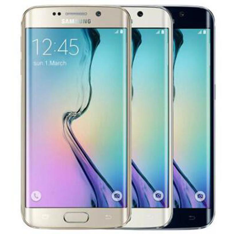Refurbished Original Samsung Galaxy S6 Edge G925F G925A G925V G925T G925P 5.1 inch Octa Core 3GB RAM 32GB ROM 16.0MP 4G Phone Free DHL 10pcs
