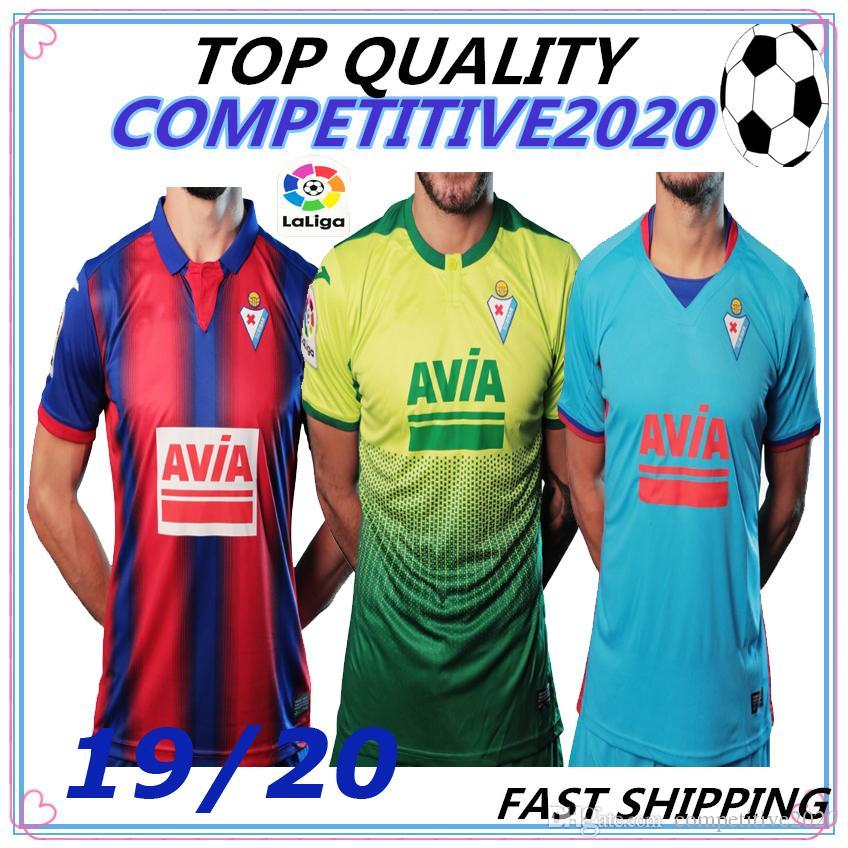 19 20 SD Eibar thailand soccer jerseys 2019 2020 Eibar SERGI ENRICH CHARLES P. OLIVEIRA ESCALANTE football shirt camiseta Kit Maillot