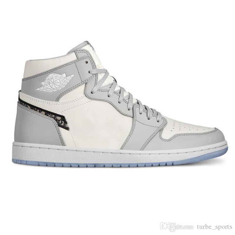 İyi Kalite D Air Jordan Retro AJ 1 Yüksek OG 1s 2020 Yeni Moda Sneakers Lüks Womens Basketbol Ayakkabı Kutusu Spor Eğitmenler