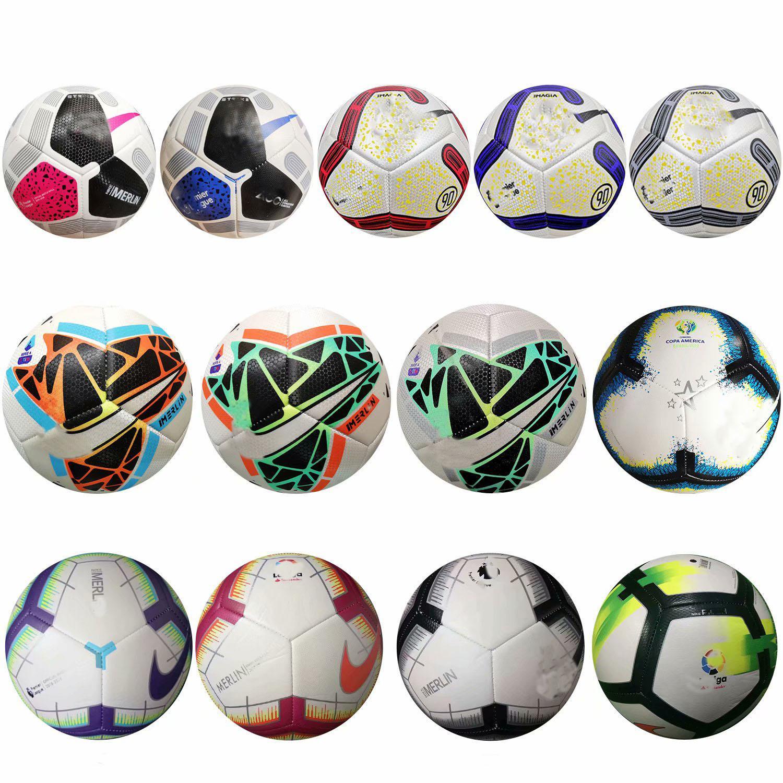 Melhor qualidade da Taça Europeia bola de futebol 2020 pu Tamanho 5 bolas grânulos futebol livre Resistente Ao Deslizamento de alta qualidade ballBest Europeu PU