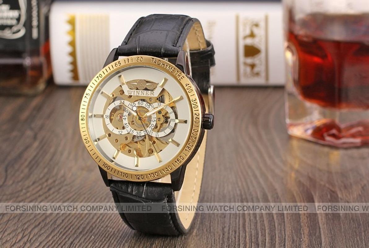 Простые и Модные мужские наручные часы Vintage отдыха Пояс черный и белый Зеркало 42мм автоматические механические часы с коробкой