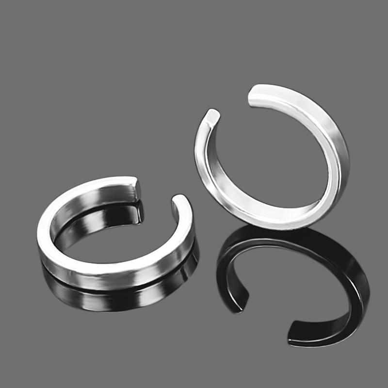 2Pcs pendientes ear cuff fashion brinco glod silver clip on earrings cuffs for women men earcuff good quality