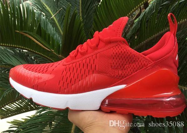 Compre Nike Air Max 270 2019 Nuevo Vino Rojo Primavera Y Otoño Personalidad Joven Moda Tendencia Zapatos Al Aire Libre Eur 36 45 Venta Al Por Mayor A