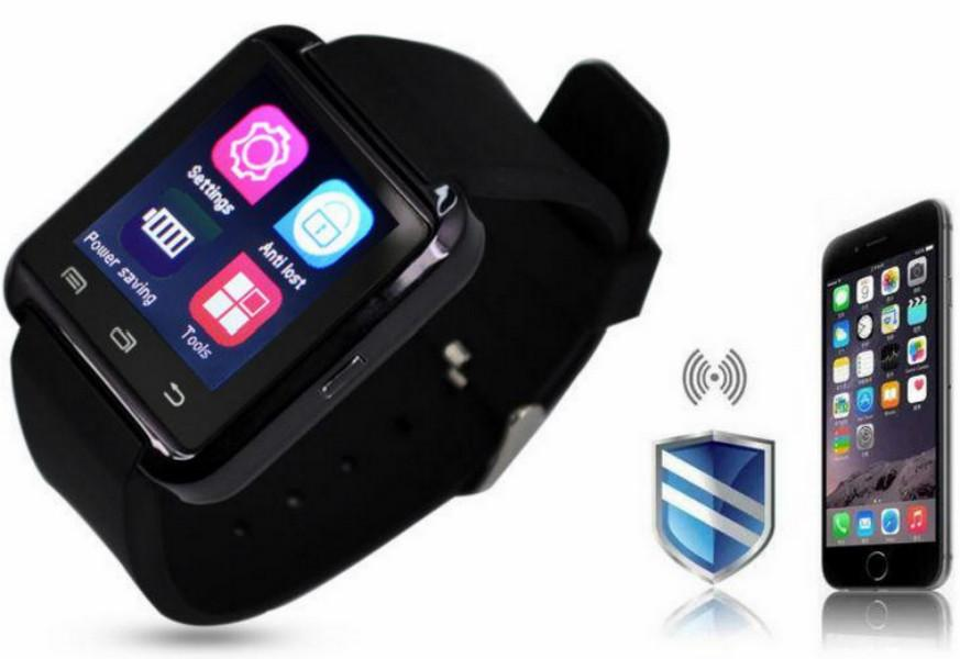 Inteligente Reloj Bluetooth Bluetooth U8 Smartwatches pantalla táctil Ranura inteligente reloj de pulsera con la tarjeta SIM para el teléfono Android Con la caja al por menor