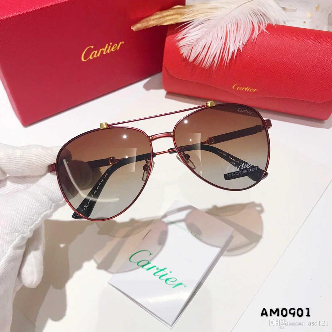 نظارات معدنية SUMMER المرأة فاخر نظارات الكبار السيدات العلامة التجارية مصمم الأزياء الأسود نظارات الفتيات القيادة نظارات شمسية A ++ الشحن المجاني