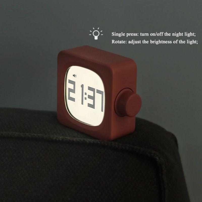 Просыпайтесь будильник можно настроить яркость часы дети дети студенты подарки