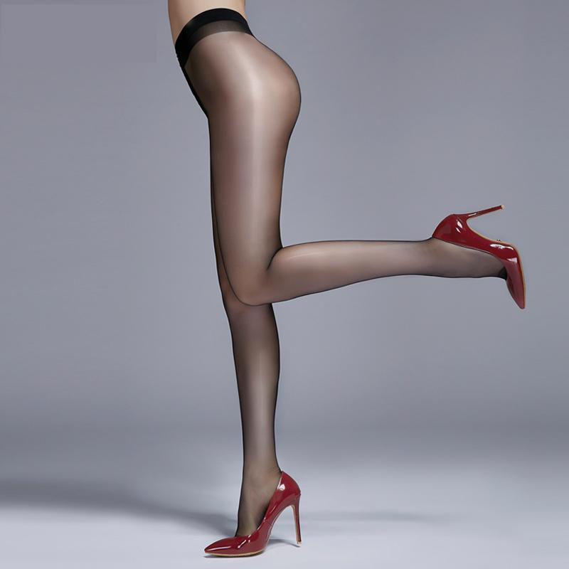 Socks & Hosiery MIJI 15D Women's Sexy Oil Shiny BIKINI Pantyhose, Stockings Hose,Leggings Lingerie Female Invisible Stocking0801