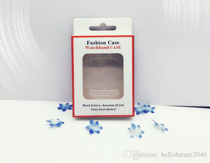 시계 케이스에 대 한 100 pc 선물 종이 포장 상자 시계 화면 보호 케이스에 대 한 소매 포장 케이스