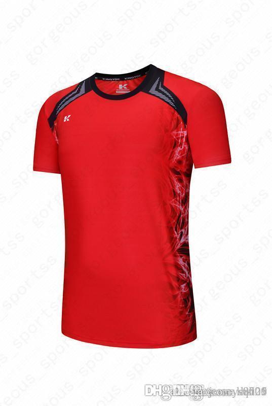 2019 Sıcak satış En kaliteli çabuk kuruyan renk eşleme baskılar değil soluk futbol jerseys309