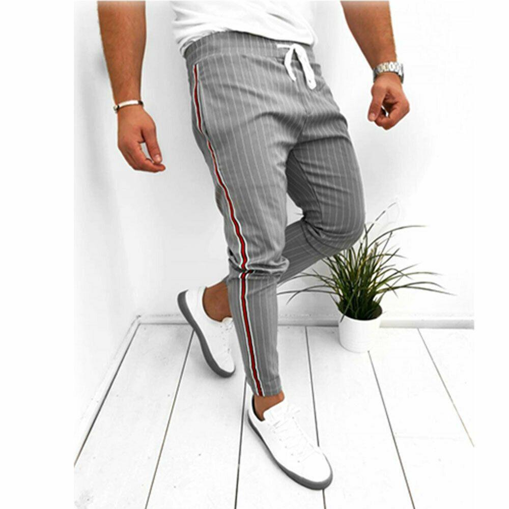 2019 hommes sport pantalons décontractés pantalons longs survêtement Fitness entraînement Joggers Gym vêtements d'été pour hommes Ins Ins Hot