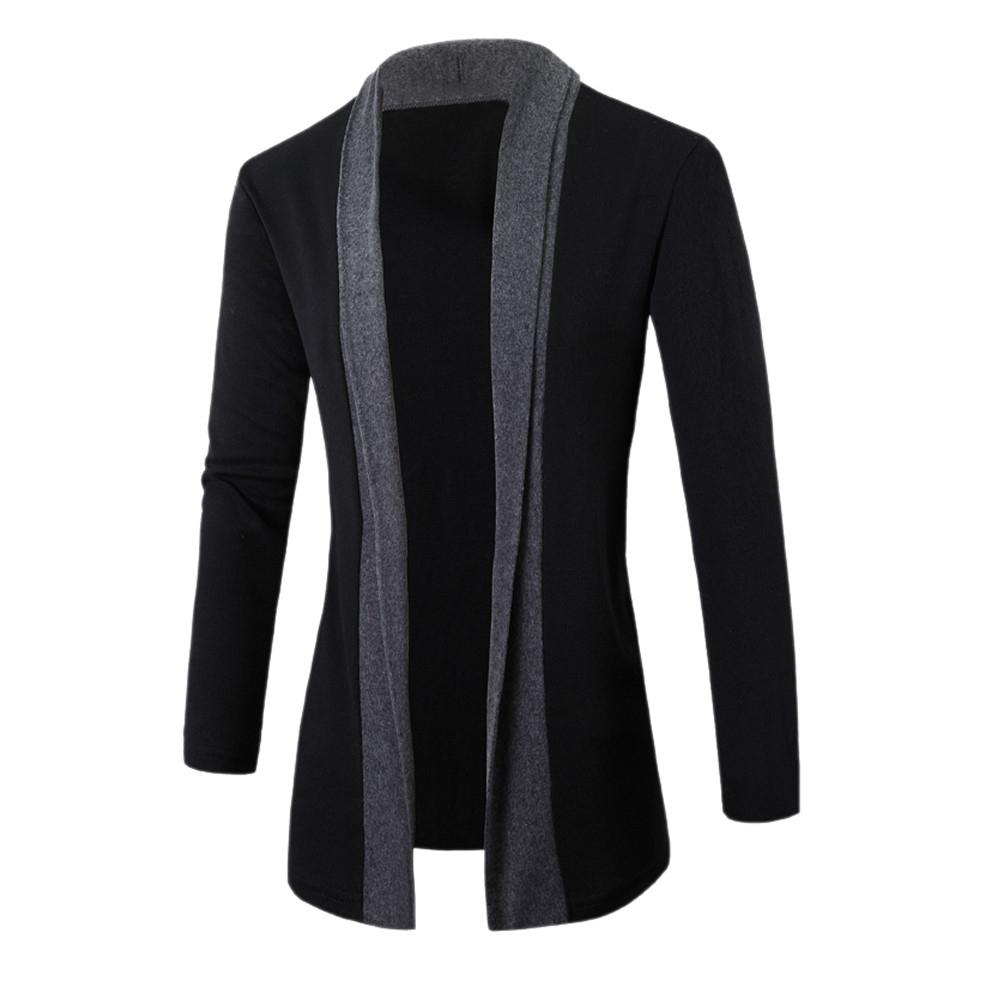 Lã KANCOOLD New inverno Brasão Slim Fit jaquetas Mens Casual Quente Jacket Casacos e casaco Men Brasão Tamanho Cardigan Jacket 816 S191019