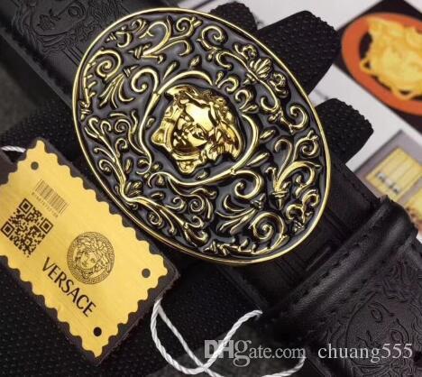 3.8 cm de alta calidad de cuero Real bolso de la manera del bolso de hombro de ladie bolso de viaje de los hombres mochila bolsillo billetera monedero cinturón diseñador de la marca de fábrica