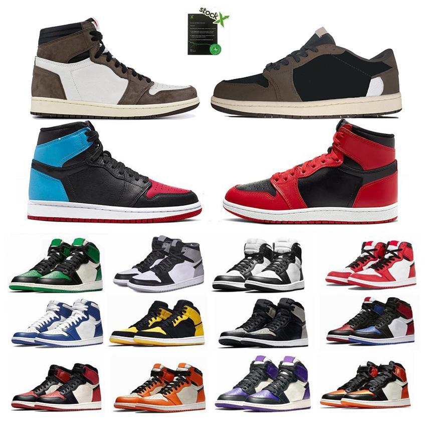 2020 mens basketball shoes new arrival 1 high og women designer sneakers Designer Mens Athletics Sneakers Trainers mens shoes size 13