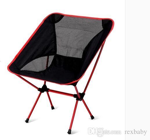 Portable Singda Folding Chair Ultralight Beach Seats for Hiking Fishing Festival Picnic BBQ Camping Stool Backrest Chair