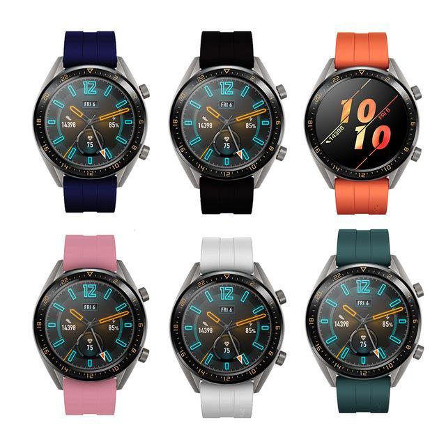 Acessórios inteligentes 2.019 alça de pulso New silicone para Huawei Assista GT / GT2 46MM Strap Band para Huawei Honor Magia relógio inteligente