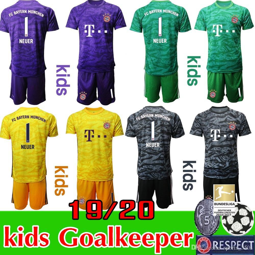 2020 2019 2020 Munich Bayern Kids Kit Soccer Jerseys Boya Youth
