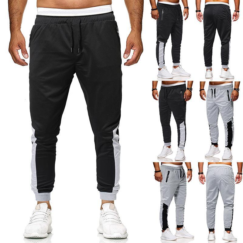 2019 Nuovi pantaloni da uomo Designer Pantaloni casual da uomo Pantaloni casual da uomo Pantaloni colorati Pantaloni da cintura con cuciture