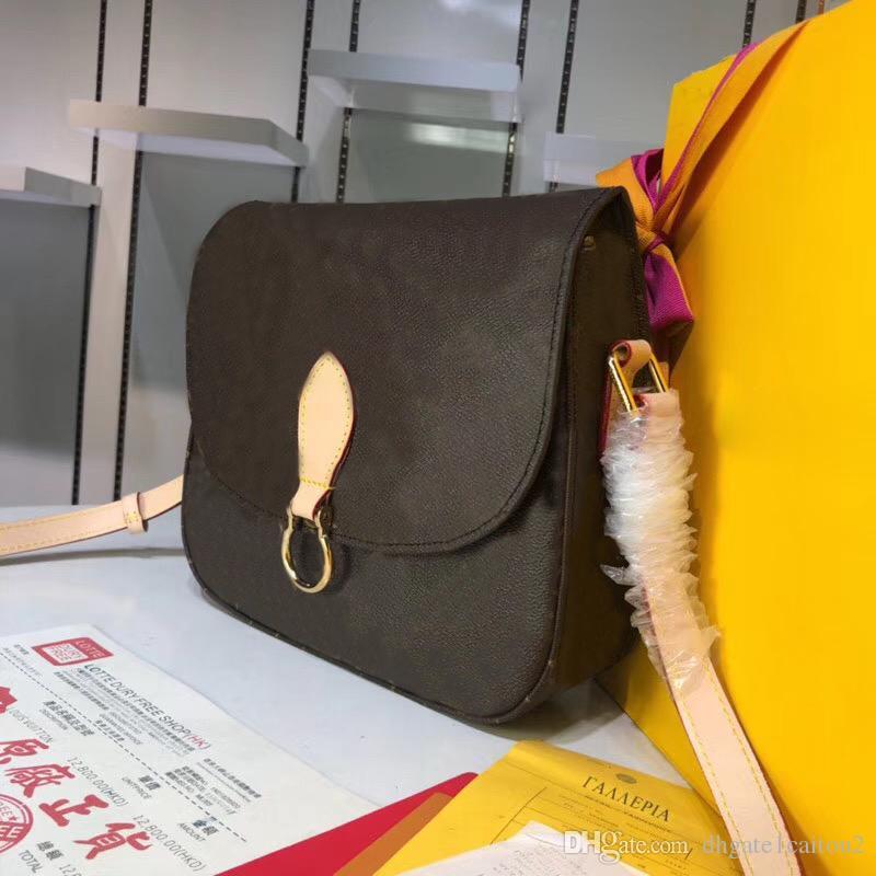 Оригинальные высококачественные Saints Luxury Cloud Designer Sumbags Asges Tote Flip Bag Brand Ground Lu Postman Package Настоящее Кожаное плечо B IKPA
