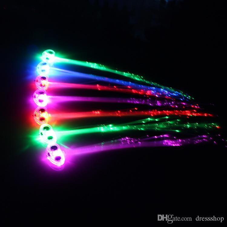 Creative Concert Cheer Requisiten Wunderschön bunte große Schmetterlings-Leuchtgeflecht-LED-Fasergeflecht-Direktstapel