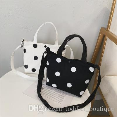 Kids Purses 2019 Newest Korean Mom And Me Matching FashionTravel Light Canvas Small Bags Cross-body Bags Birthday Gifts