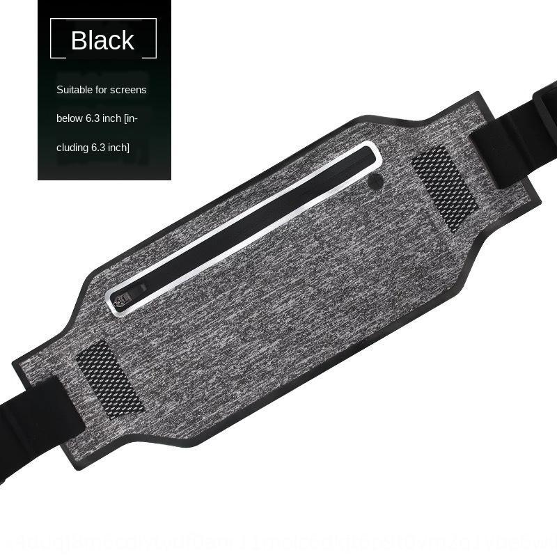 Cintura de los deportes del bolso del teléfono resistente al agua invisible ajustada antirrobo libre del bolso de la cintura teléfono móvil ultra delgado ejecuta Mobile
