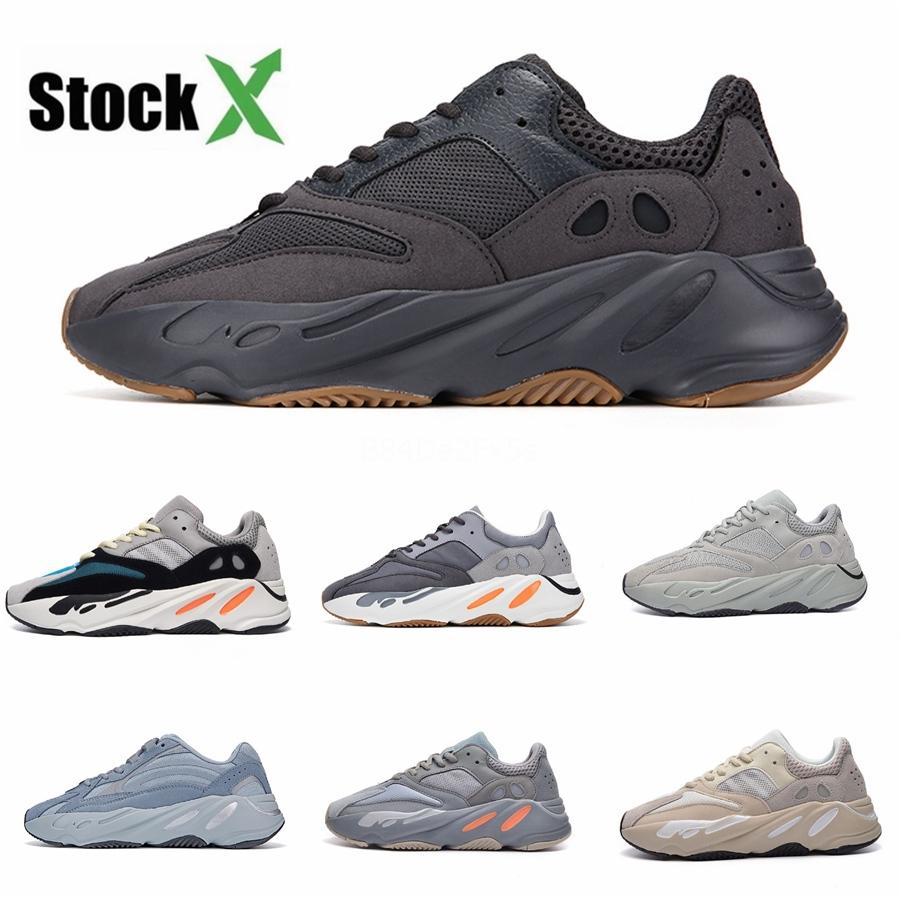 2020 Top qualité avec la boîte à bas prix 700 V3 Azaël Kanye West Chaussures Hommes Chaussures de course pour Hommes Chaussures Sport 700S Tripler Sneakers Mode # QA582
