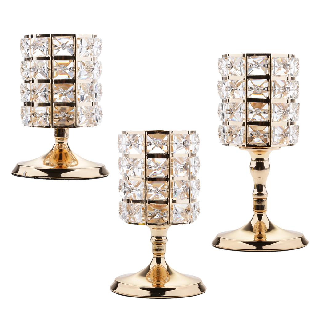 Home Decorative Crystal Votive Candle Holder Zinc Alloy Stands Candlestick Wedding Centerpieces Decor Ornaments Tall Glass Candle Holders Tall Glass Pillar Candle Holders From Zeyuantrading 44 52 Dhgate Com