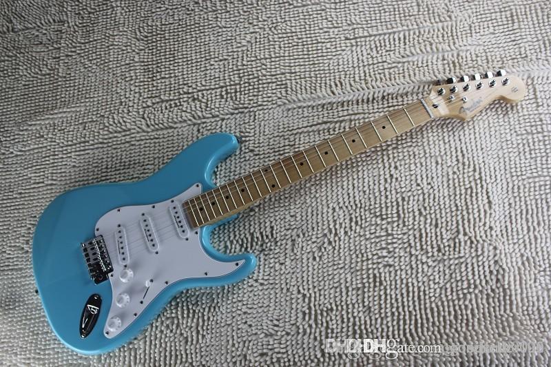 Nuovo arrivo VENDITA ON F Blue Sky su misura acero Corpo Tastiera elettrica in chitarra Stock