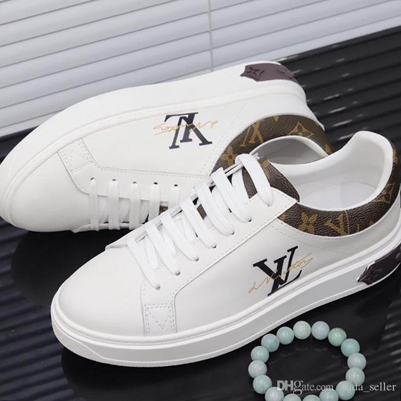 Винтажная мужская обувь нового прибытия Открытый Walking Комфортные Спортивная обувь дышащая Дизайнерская шнуровке Повседневная обувь мужчины с Origin Box