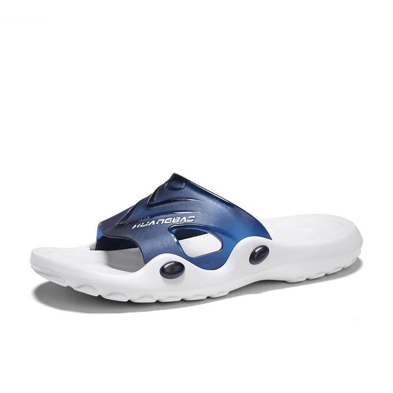Terlik Erkekler Yaz Banyo Terlik Erkek Plaj Sandalet Moda Ev Terlik Kaymaz Zemin Terlikler Ayakkabı