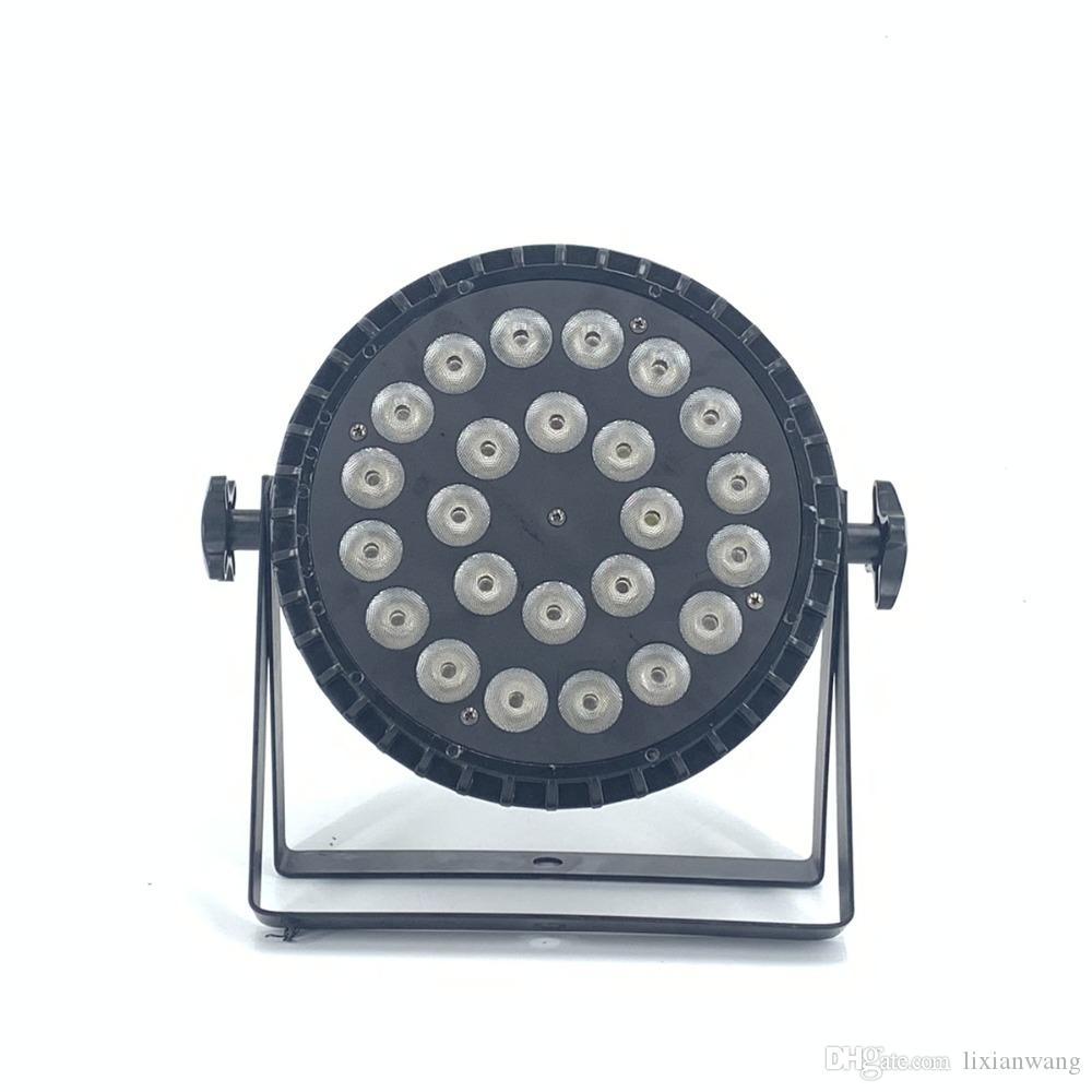 20 PZ أضواء LED 24x18W RGBWA UV 6in1 الصمام ضوء المرحلة للمرحلة المهنية الإضاءة RGBW 4IN1