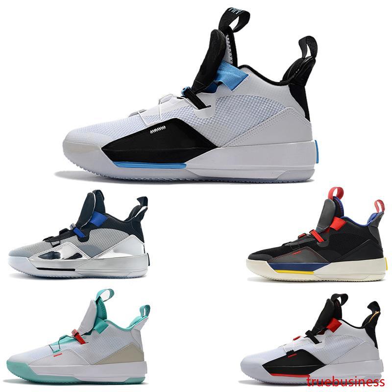 33 утилита затемнение баскетбольная обувь мужская спортивная обувь тренажерный зал Красный Чикаго TECH PACK 33s PE роскошные спортивные кроссовки дизайнерская обувь размер 40-46