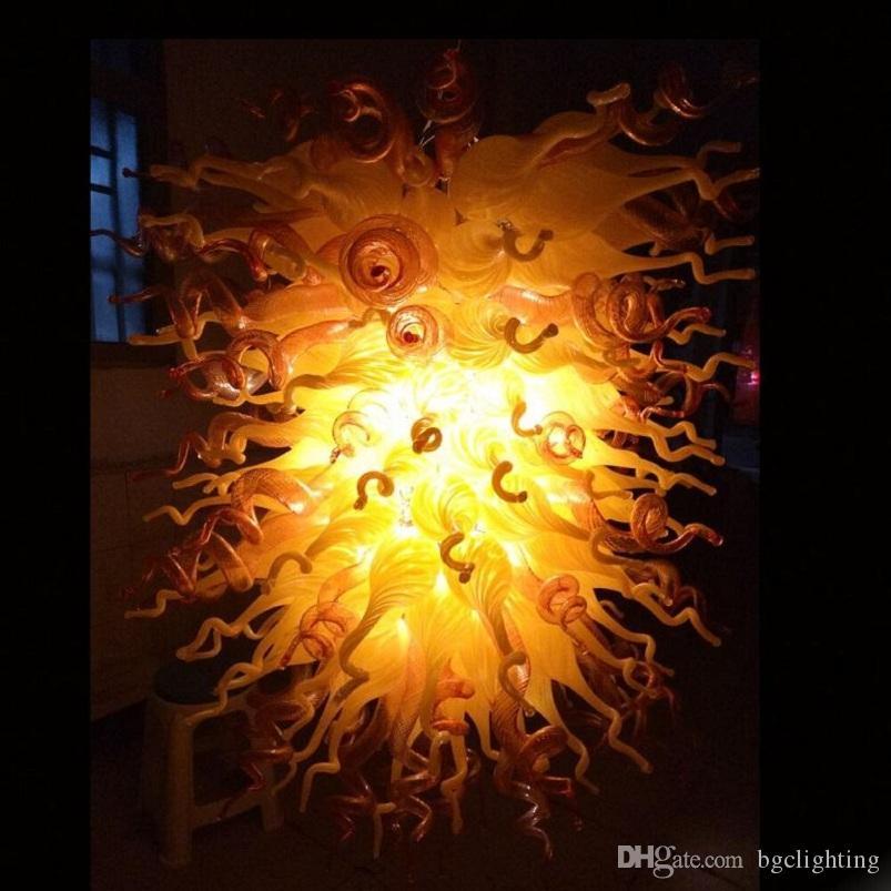 Энергосберегающий Кулон в форме сердца Кри Рука выдувное стекло Марокканский Потолочные светильники ручной выдувного стекла подвесные светильники