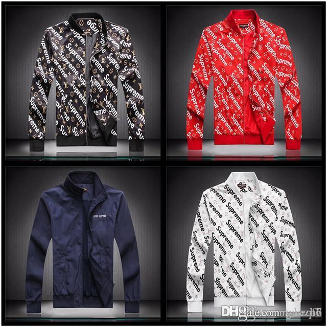 21fw Fashion Designers Veste coupe-vent manches longues vestes pour hommes Hoodie Vêtements Zipper Avec Motif Lettre animal Taille Plus Vêtements M-3XL