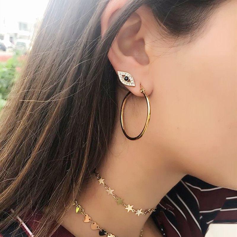 925 Sterling Silver Star Moon Lighting Stud Pendientes Lindo Encantador Chicas Stud Delicate Design 2020 Minimal Stud Pendientes Joyería de plata
