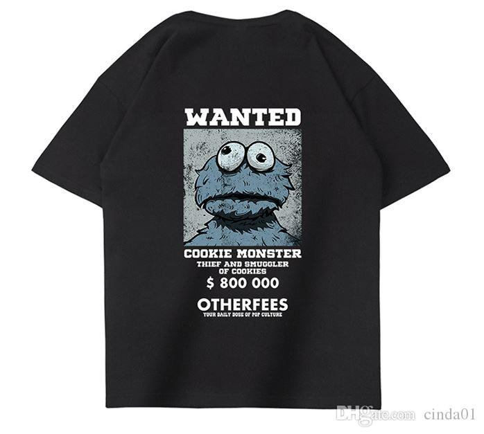 Mens T-shirt Short Sleeve Summer Dress New Loose Trend Half Sleeve Popular Cotton T-shirt For Men