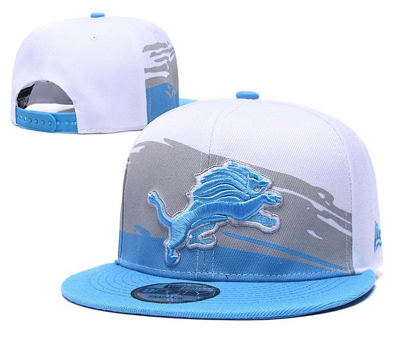 Atacado 2020 Baseball Snapback Equipe de esporte da DET Lion Plano de Nova homens do logotipo bordado One Size Adjustable Caps Out Door Moda Ossos