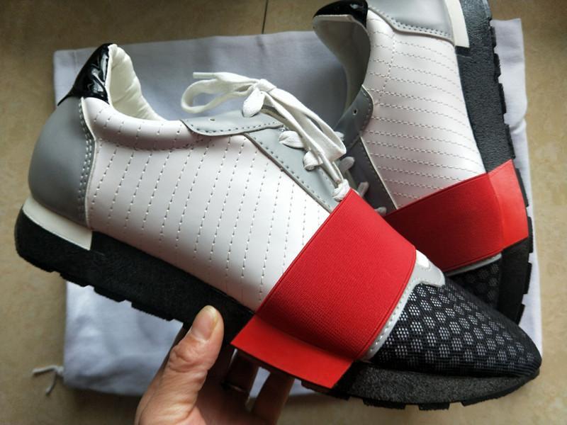 2020 Sıcak İtalya Moda Marka Yüksek Kaliteli Yarış Runner Ayakkabı Rahat Erkekler Kadınlar Moda Mavi Ucuz Sneaker Mesh Trainer Sivri Ayakkabı