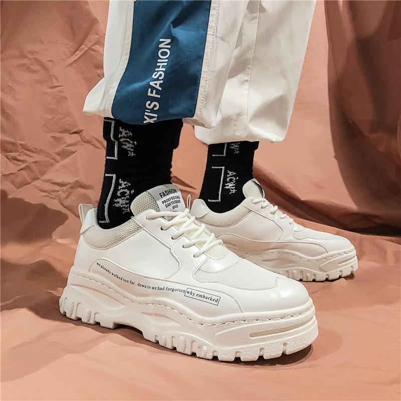 2019 Scarpe di marca Uomo Designer Estate Autunno Scarpe da uomo Bianco Traspirante Casual Alta qualità
